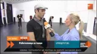 Good morning with  TV7  from DERIDA Dance Center  during DANCE IT! 2012