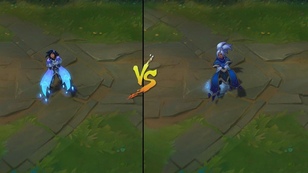 SSG Taliyah Skin vs Freljord Taliyah Skins Comparison (League of Legends)