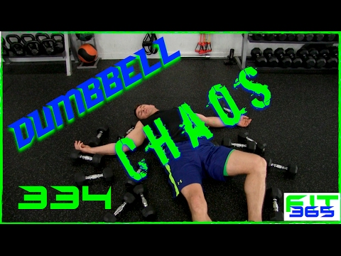 Extreme Chaos Dumbbell Strength Advanced Level