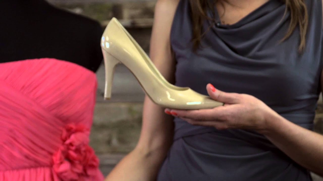 What Color Shoe Goes With A Hot Pink Bridesmaid S Dress Dresses
