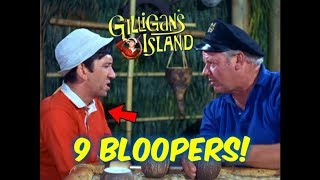 9 Gilligan's Island Bloopers You Probably DID NOT Notice!
