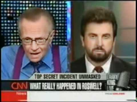 Roswell UFO Incident - Witnesses Interviewed on Larry King - (CNN)
