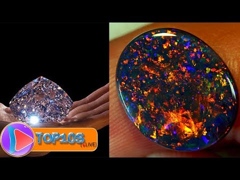 10 Most Expensive Minerals in the World || TOP10slive