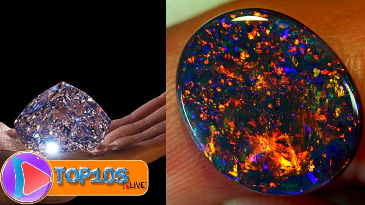 10 Most Expensive Minerals in the World || TOP10slive - YouTube