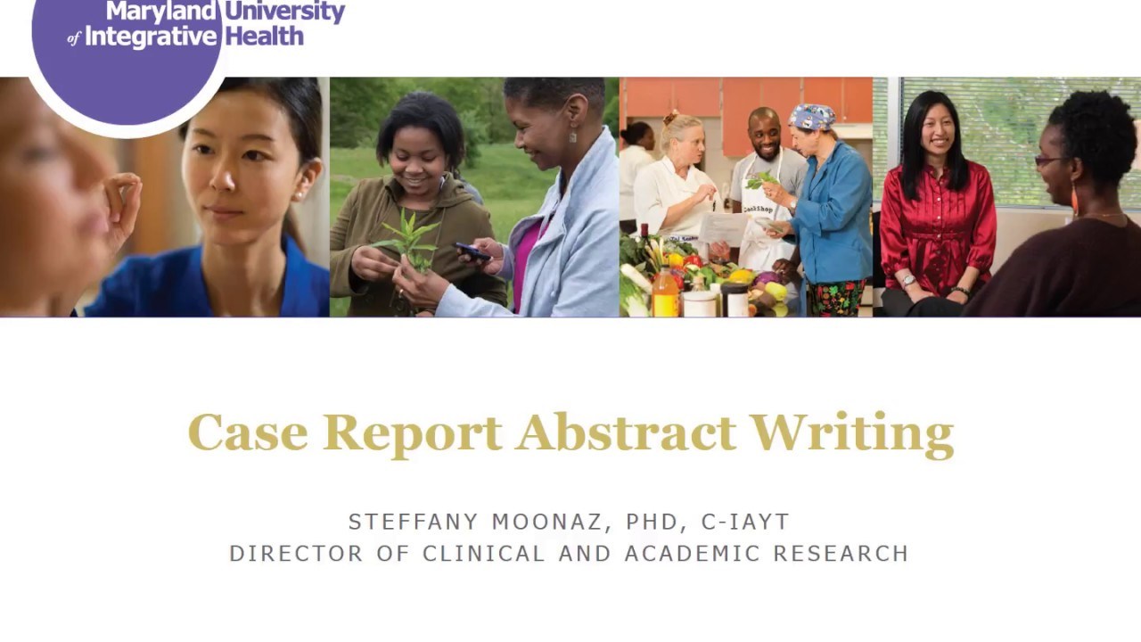Case Report Abstract Writing