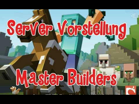 MCPE Master Builders Server IP YouTube - Minecraft master builders deutsch spielen