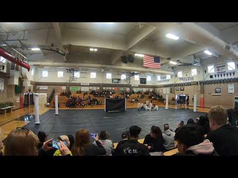 John Swett HS Winter Guard 2019 @ Rodriguez Review