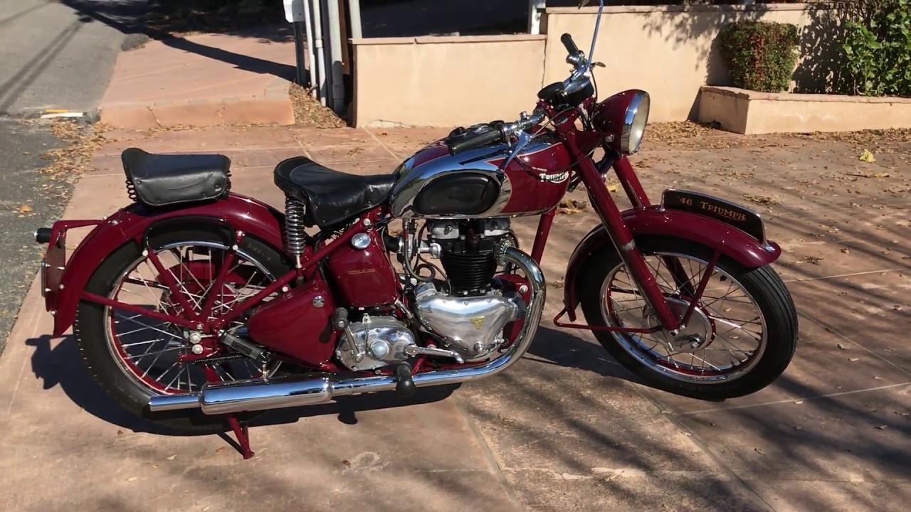 1946 Triumph Speed Twin Ride Youtube