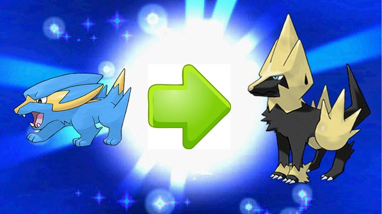 shiny electrike evolves into shiny manectric pokemon x
