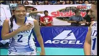 Shakey's V-Leage S12 Finals:  ADMU vs NU, Game 1 (9/20/15)