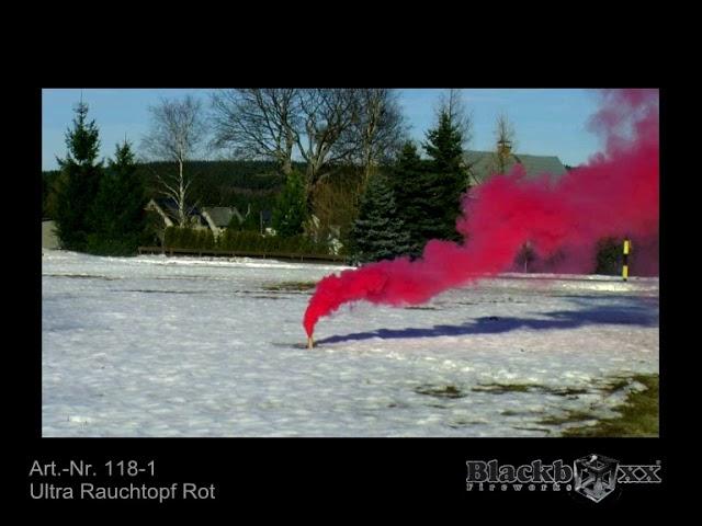 L22 Ultra Rauchtopf rot