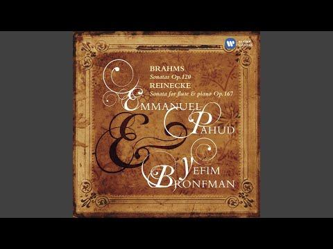 Sonata for flute & piano, Op.167 'Undine': I. Allegro