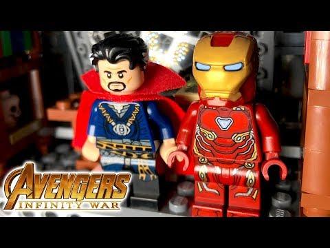 Avengers Infinity War Trailer - Kids' LEGO stop motion shot for shot!!