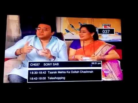 A brief view of all the channels in RealVu DTH