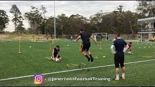 FULL SPEED & AGILITY | 2 coaches | 4 players - Joner 1on1