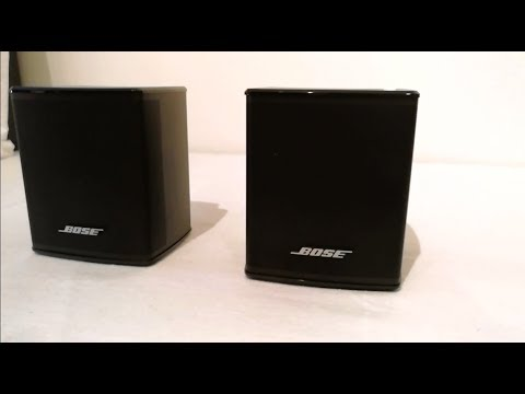 bose virtually invisible 300 speakers unboxing set up preparation youtube. Black Bedroom Furniture Sets. Home Design Ideas