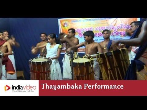 Thayambaka performance: Irikita