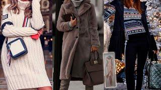 КАК ОДЕВАТЬСЯ ЭТОЙ ЗИМОЙ модные тренды зима 2021