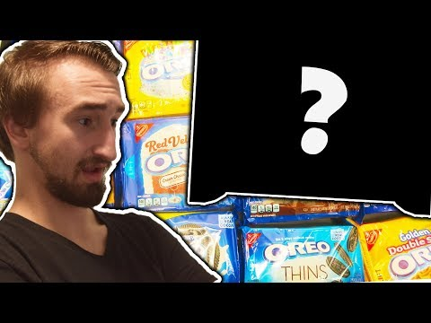 WHICH IS THE BEST OREO FLAVOR!?