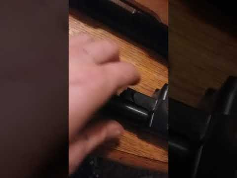 Ruger 10/22 disassembly, cleaning, how to, stock removal