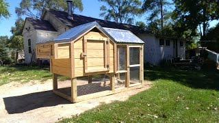Chicken Coop! Time Lapse Video