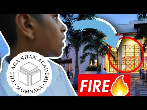Fire At School *ELECTRIC WIRE SPARKS* (Aga Khan Academy) #AKAM