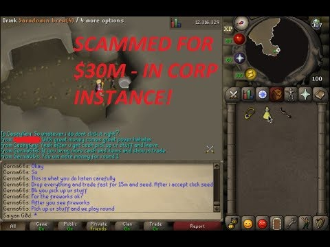 [WARNING SCAMMED FOR 30M] How Not To Get Corp Instance Clan