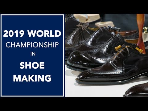 f9deea964 World Championship in Shoe Making 2019 👞