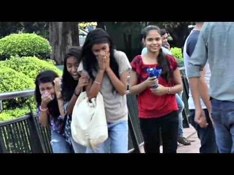 Pressing 'BOOBS' Prank (Gone Wrong) | AVRprankTV (Pranks In India)