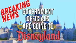 BREAKING NEWS Government Officials Going To Disneyland