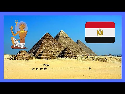 EGYPT,  the magnificent PYRAMID OF CHEPHREN or KHAFRE in GIZA, full tour