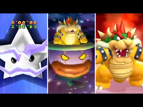Evolution of Final Boss Minigames in Mario Party (1998-2017)