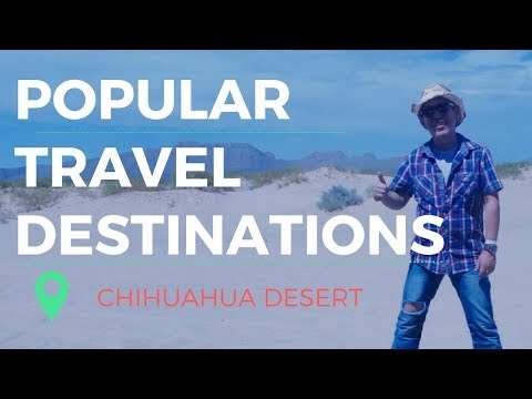 Traveling to Chihuahua / Beauty desert of Mexico