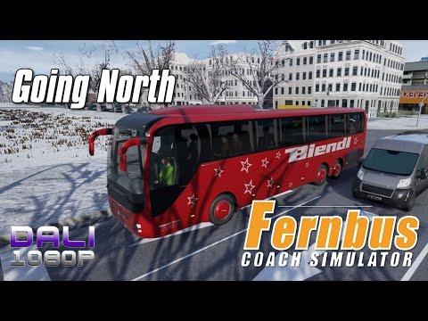 Fernbus Coach Simulator - Going North - 'Biendl' Bus PC Gameplay 1080p 60fps
