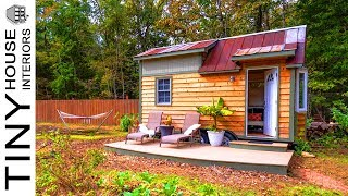 128 Square Foot Charming Tiny House At Wildwoods Community Farm