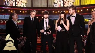 Lady Antebellum accepting the GRAMMY for Record of the Year at hte 53rd GRAMMY Awards | GRAMMYs