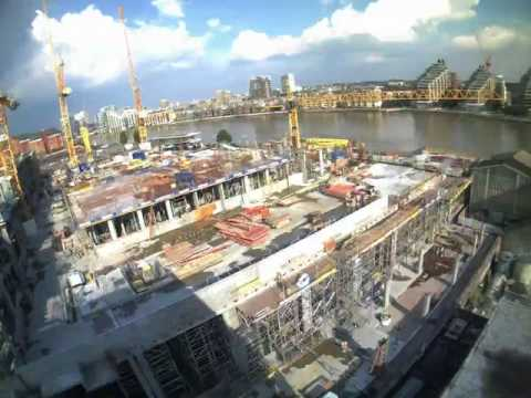 Fulham Riverside Time lapse 1 - Barratt London