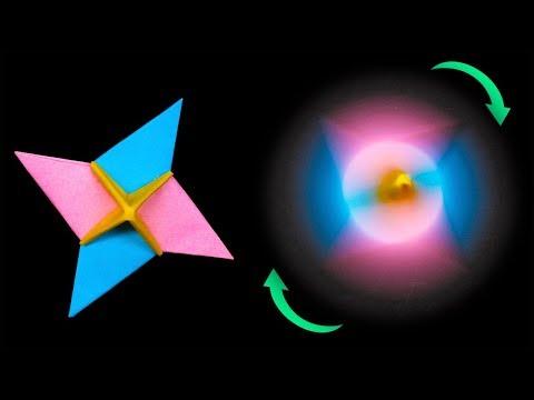 Easy #origami #Ninja Star #Spinner