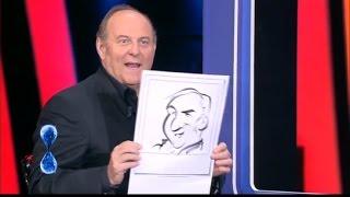Federico Cecchin - caricaturista a TU SÌ QUE VALES - Canale 5