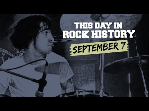 Led Zeppelin's First Show, Who's Keith Moon Dies - September 7 in Rock History