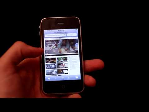 iOS 4.0 on 3G iPhone (parody)