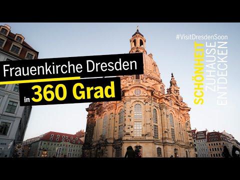 Durch die Frauenkirche Dresden - in 360°.