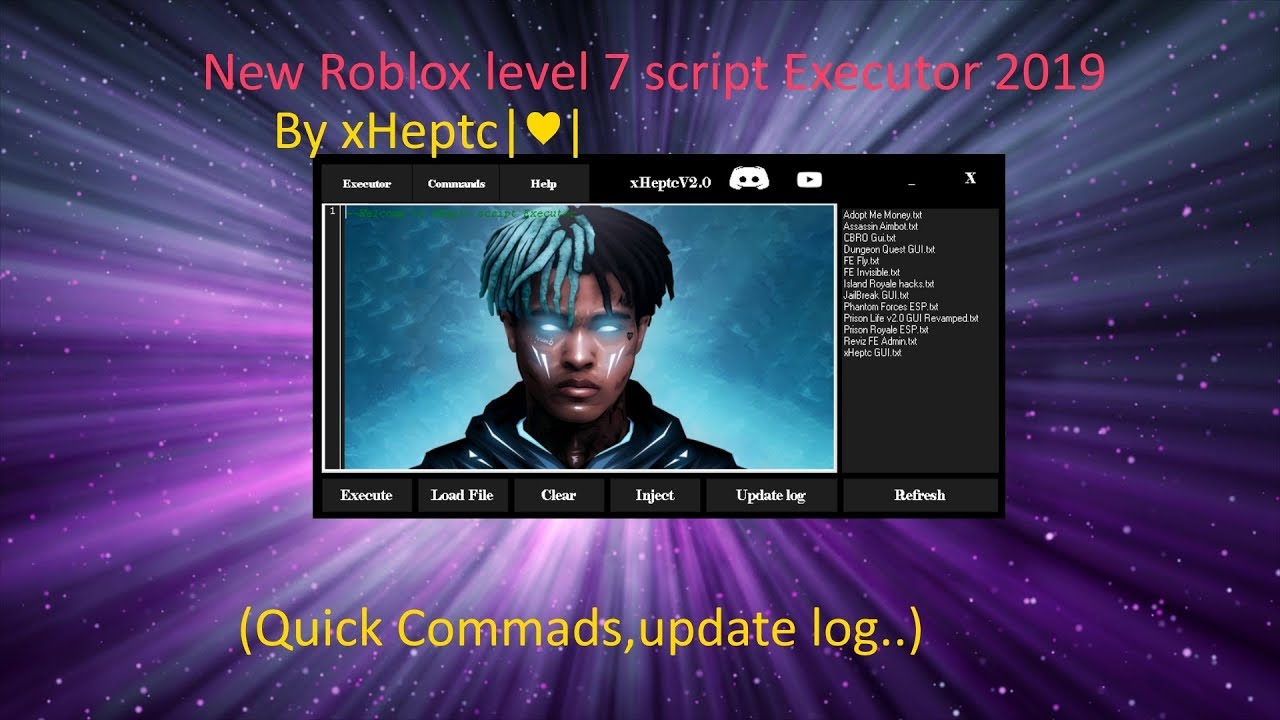 Roblox Level 7 Script Executor // 2019*| xHeptc |