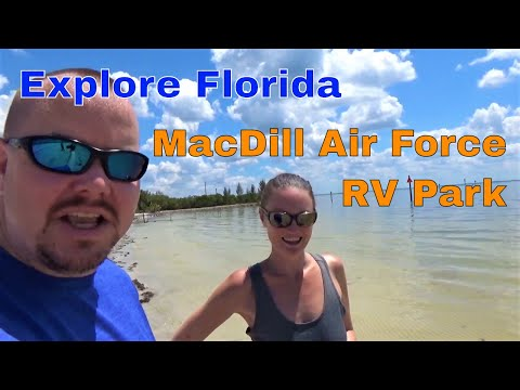 RV Chilling MacDill Air Force Base S01-E09 || Explore Florida