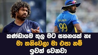 Lasith malinga final decision | MY TV SRI LANKA