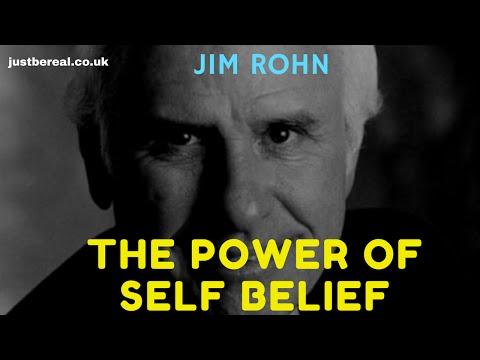 The Power Of Self Belief - Jim Rohn