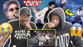 BTS FAILS ON STAGE (REACTION) | They're good at playing it off!
