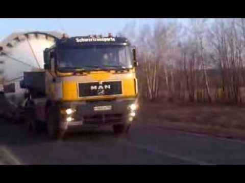 ПодольскАвтоТранс - перевозка негабаритных спиртовых емкостей