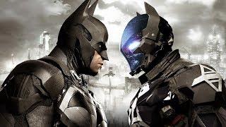 Темный рыцарь  на офигенной тачке ☺ Batman: Arkham Knight