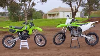 MXTV Bike Test - Kawasaki 1983 KX80 Versus 2016 KX85
